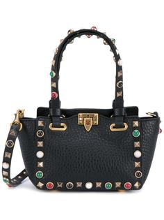 миниатюрная сумка-тоут Valentino Garavani Rockstud Rolling  Valentino