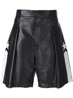 бермуды с контрастной полоской Givenchy