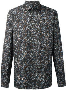 рубашка с абстрактным принтом Lanvin