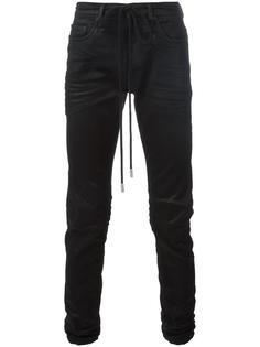 джинсы с покрытием Off-White