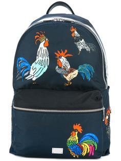 рюкзак с принтом петуха Volcano  Dolce & Gabbana