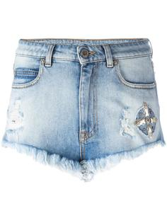 джинсовые шорты Ceth Marcelo Burlon County Of Milan