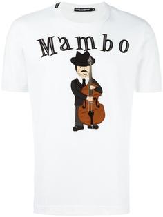 футболка с заплаткой Mambo Dolce & Gabbana