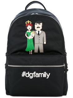 рюкзак с заплаткой Volcano  Dolce & Gabbana