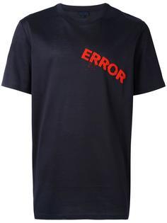 футболка с вышивкой из бусин Lanvin