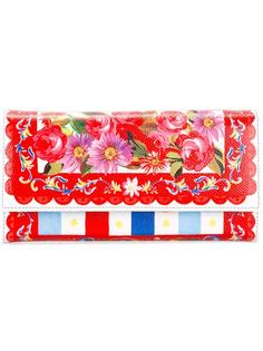 кошелек с узором Mambo Dolce & Gabbana