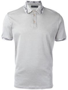 футболка с контрастным воротником Etro