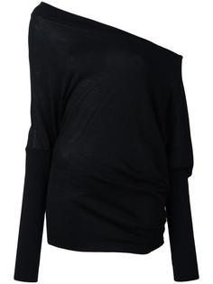 джемпер свободного кроя на одно плечо Tom Ford