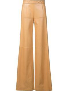 брюки-палаццо с завышенной талией Derek Lam