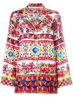 пижамная рубашка с узором Mambo  Dolce & Gabbana