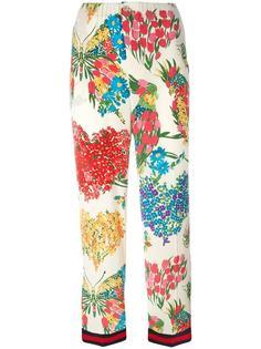 пижамные брюки с принтом Corsage Gucci