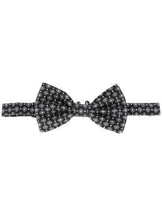 галстук-бабочка с узором Dolce & Gabbana