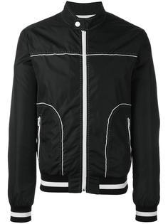 куртка с декоративной строчкой Dolce & Gabbana