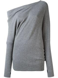 свитер с открытым плечом Tom Ford