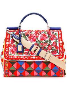 большая сумка-тоут Sicily Mambo Dolce & Gabbana