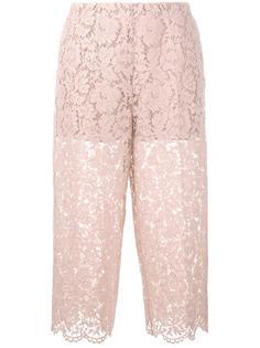гипюровые брюки Valentino