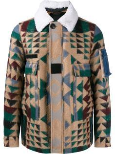 куртка с узором Valentino