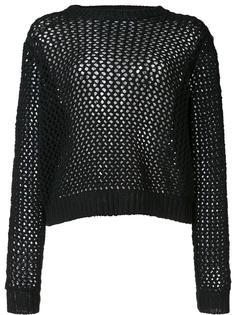 свитер со шнуровкой на рукавах Derek Lam 10 Crosby