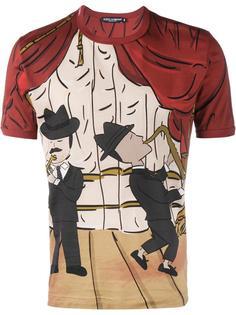 футболка с принтом Jazz Dolce & Gabbana