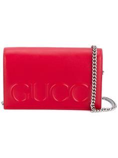 сумка через плечо с логотипом Gucci