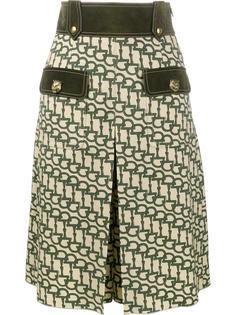 шорты до колена с рисунком Horsebit Gucci