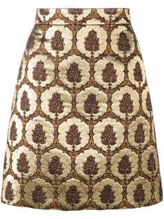 жаккардовая мини юбка  Gucci