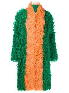 трикотажное пальто Gucci