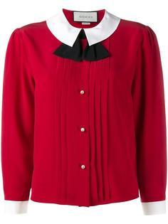 блузка с воротником питер-пэн Gucci