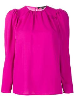 блузка с рукавами-буф Derek Lam