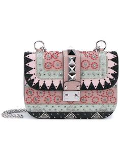 вышитая сумка на плечо Valentino Garavani Glam Lock Valentino