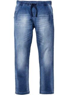 Трикотажные брюки STRAIGHT, cредний рост (N) (синий) Bonprix