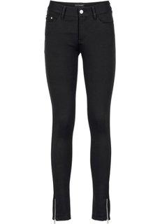 Формирующие брюки из плотного трикотажа (темно-синий) Bonprix