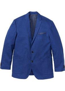 Пиджак Regular Fit в смеси льна и хлопка, cредний рост (N) (черный) Bonprix