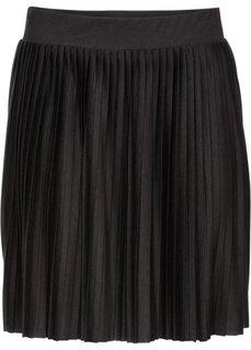 Плиссированная юбка (темно-синий) Bonprix