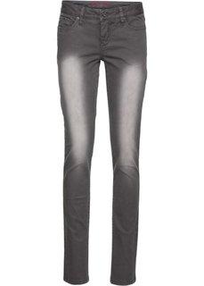 Узкие брюки (белый) Bonprix