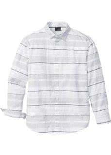 Рубашка Regular Fit в полоску (темно-синий/белый в полоску) Bonprix
