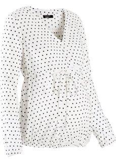 Блузка для беременных (серо-синий) Bonprix