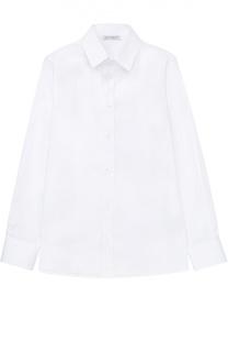 Рубашка из эластичного хлопка Dolce & Gabbana