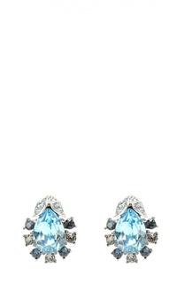 Серьги Radiant Crystal с кристаллами Swarovski Oscar de la Renta