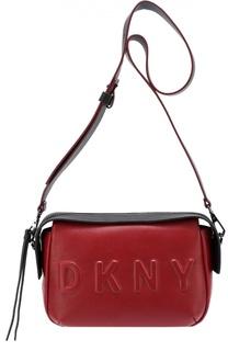 Сумка на молнии с логотипом бренда DKNY