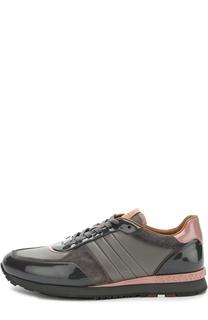 Комбинированные кроссовки Asyia Bally