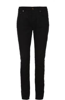 Хлопковые джинсы прямого кроя Saint Laurent