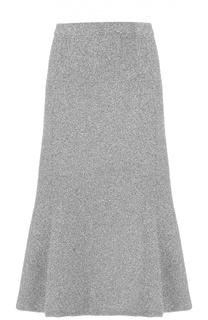 Юбка-миди фактурной вязки Balenciaga