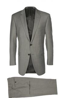 Шерстяной приталенный костюм Lanvin