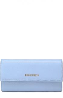 Кожаный бумажник с клапаном Coccinelle