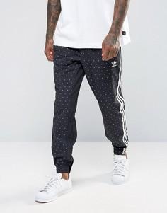 Черные джоггеры с принтом adidas Originals Pharrell BR1820 - Черный