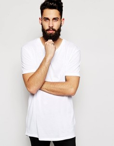 Длинная футболка New Look - Белый