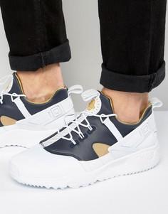 Белые кроссовки Nike Air Huarache Utility 806979-100 - Белый