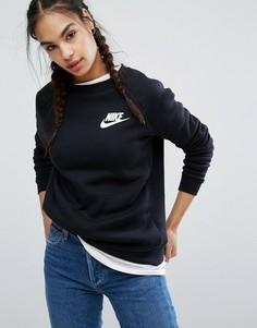 Черный свитшот Nike Rally - Черный