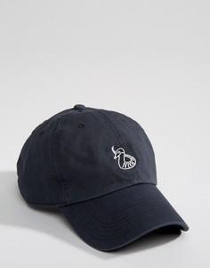 Синяя кепка с принтом кобры Nike SB 806047-010 - Черный